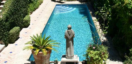 Solar-heated Pool